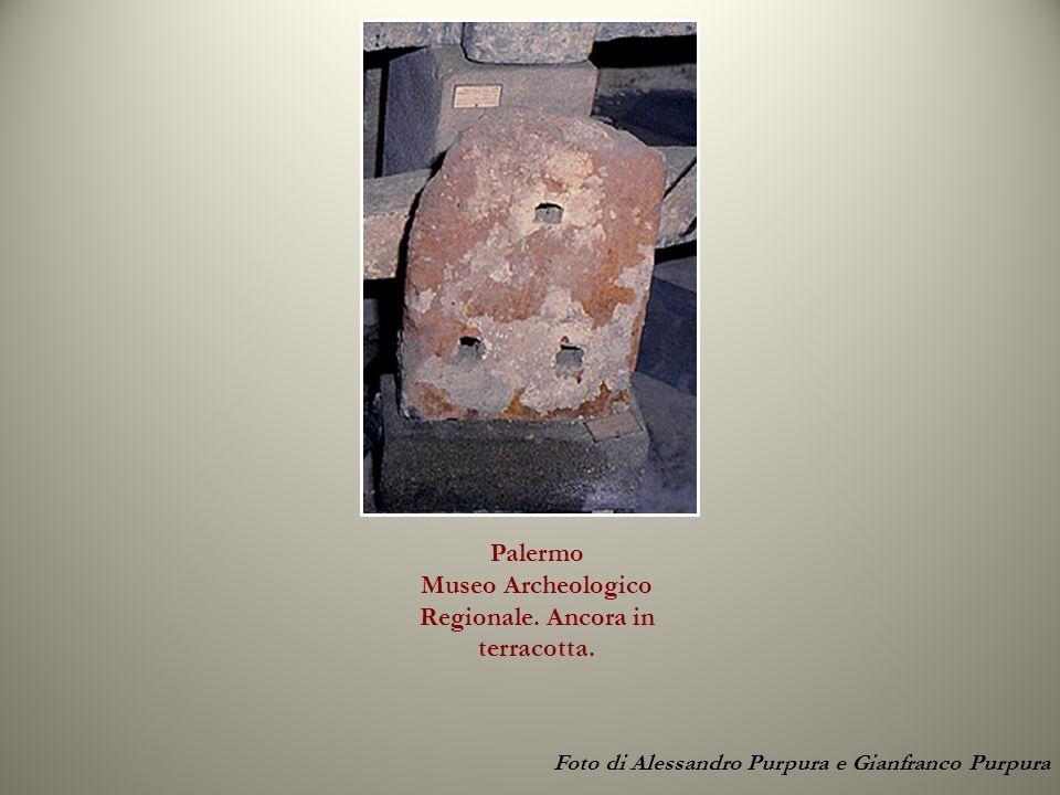 Palermo Museo Archeologico Regionale. Ancora in terracotta. Foto di Alessandro Purpura e Gianfranco Purpura