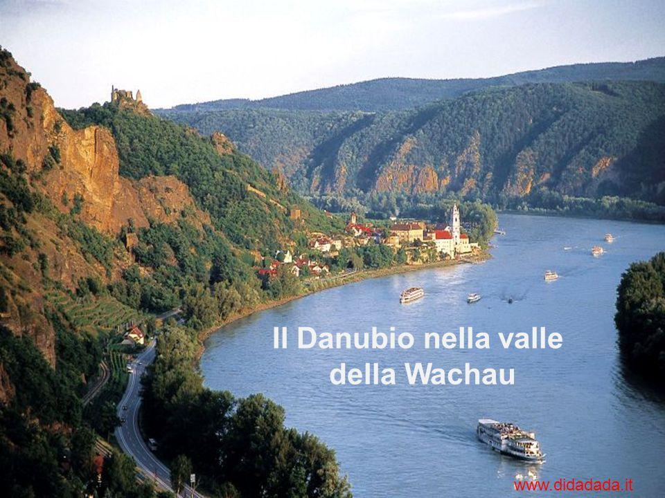 Alto corso: dalla sorgente a Bratislava In questo primo tratto il Danubio è un tipo fiume alpino alimentato dai ghiacciai Stati attraversati: Germania