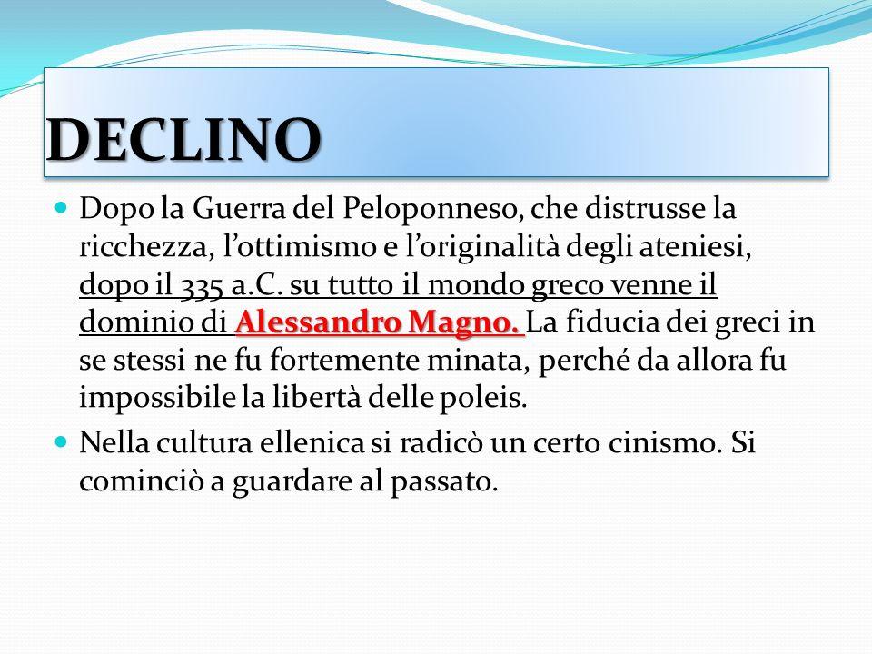 DECLINODECLINO Alessandro Magno.