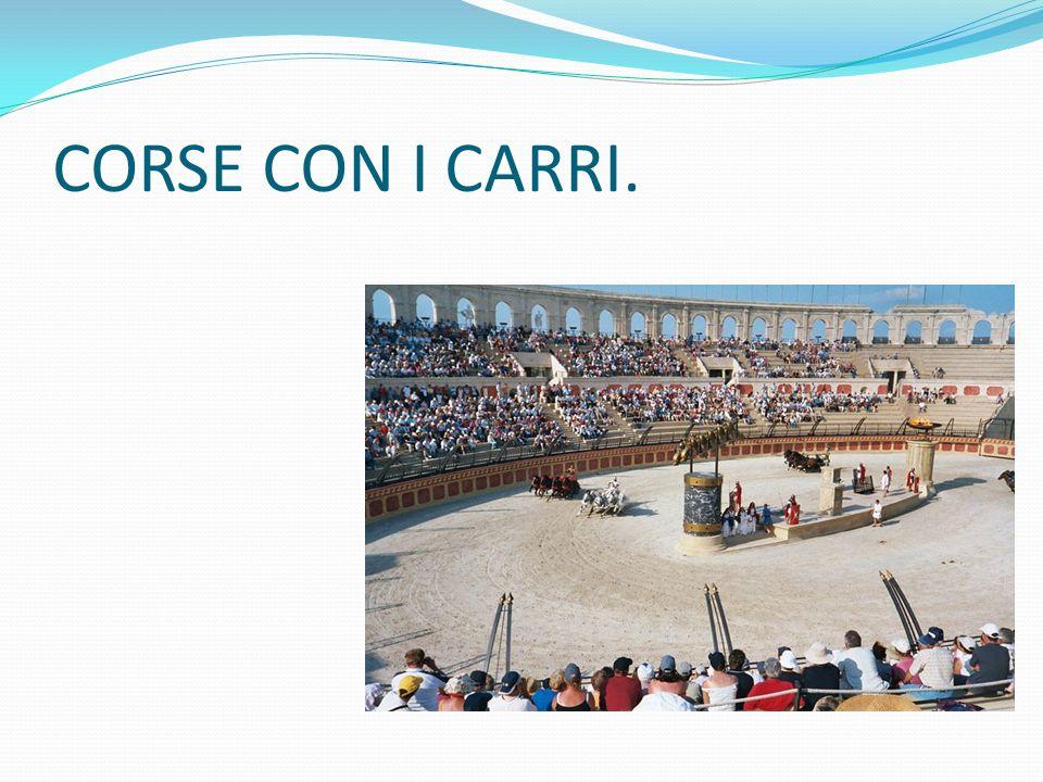 CORSE CON I CARRI.