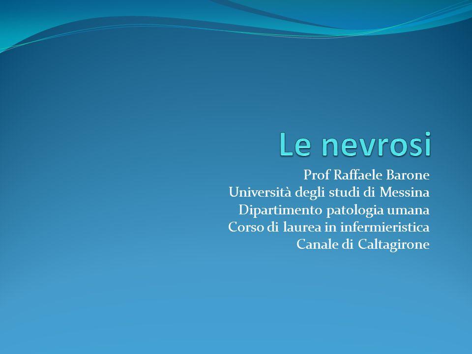 Prof Raffaele Barone Università degli studi di Messina Dipartimento patologia umana Corso di laurea in infermieristica Canale di Caltagirone