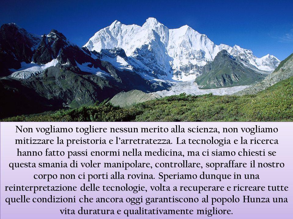 Non vogliamo togliere nessun merito alla scienza, non vogliamo mitizzare la preistoria e larretratezza. La tecnologia e la ricerca hanno fatto passi e