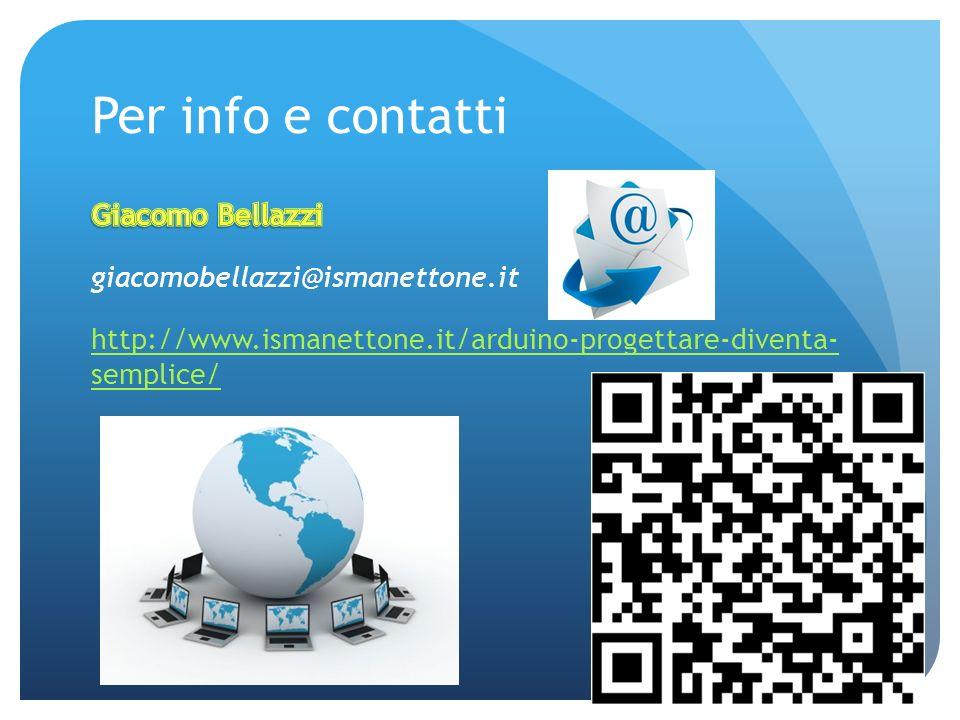 Per info e contatti