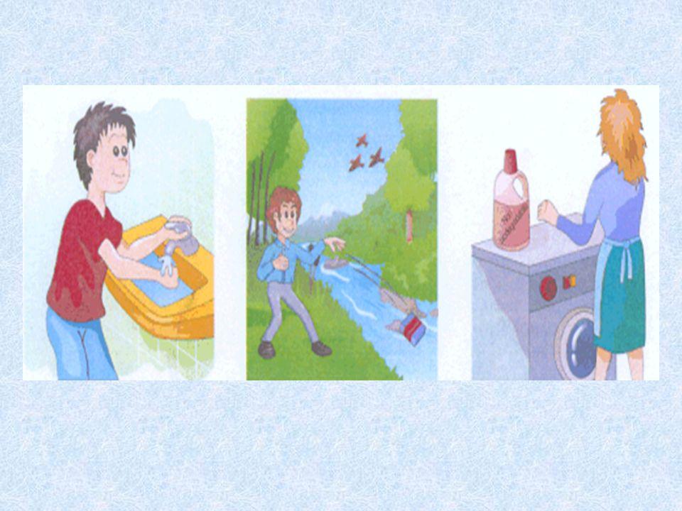 Che cosa non bisogna fare per risparmiare l'acqua e per mantenerla pulita?