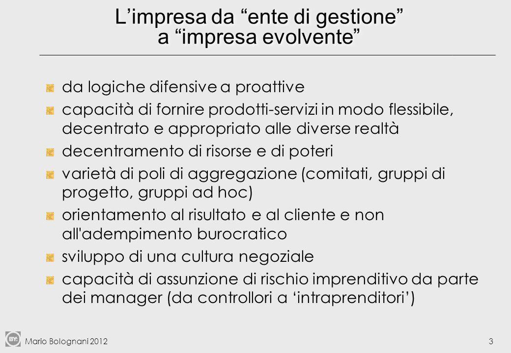 Mario Bolognani 201234 Esempi di process owner Fonte: Bartezzaghi et al., cit