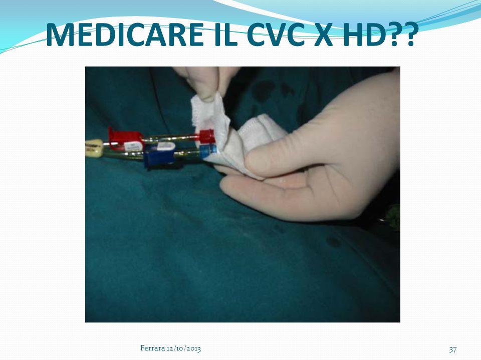 37 MEDICARE IL CVC X HD?? Ferrara 12/10/2013