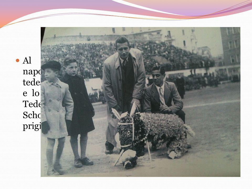 Al Vomero, nel Campo Sportivo, cinquanta napoletani furono presi come ostaggi dai soldati tedeschi. Lintero stadio fu accerchiato dai partigiani e lo