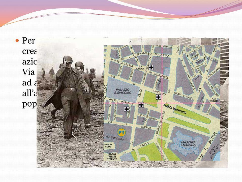 Una minaccia in città Il comandante tedesco Scholl, il giorno del 12 settembre del 43 fece affiggere un proclama per le vie della città, con il quale informava di aver assunto il comando delle truppe tedesche a Napoli e di essere deciso a reprimere qualsiasi atto di insubordinazione da parte della cittadinanza contro le forze tedesche.