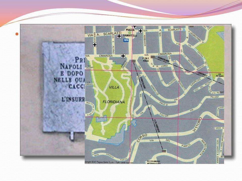 Altri punti strategici da controllare erano la zona dei Miracoli e dellOrto Botanico, Piazza Carlo III e la Doganella; bisognava controllare questi luoghi per impedire ai Tedeschi laccesso alle strade provinciali.