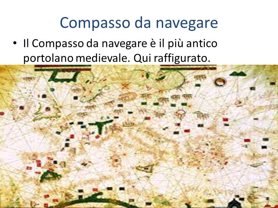 Compasso da navegare Il Compasso da navegare è il più antico portolano medievale. Qui raffigurato.