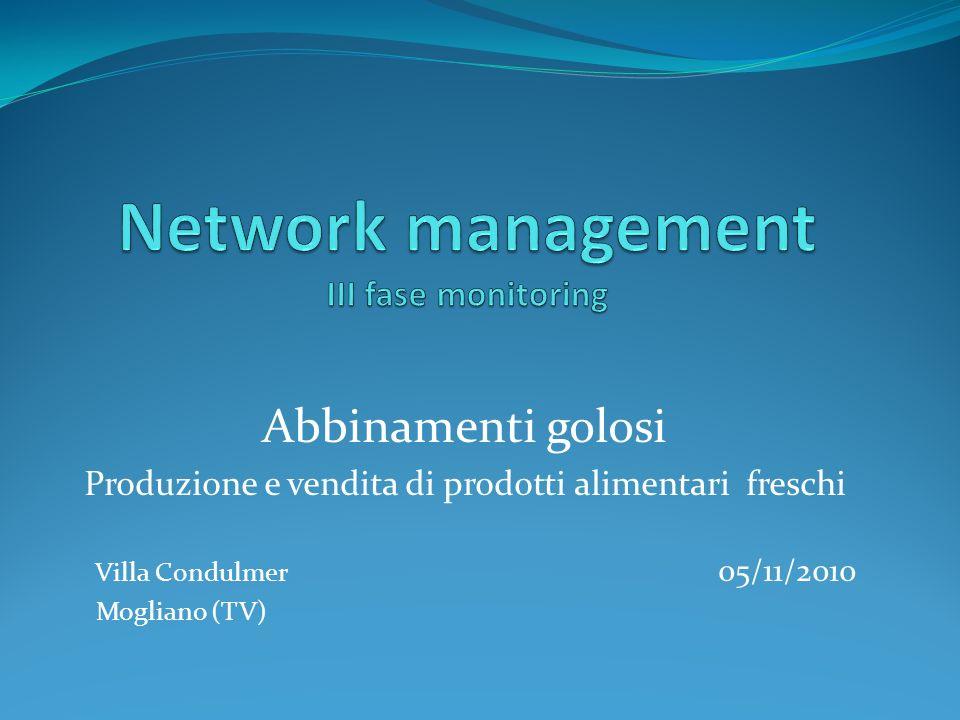 Abbinamenti golosi Produzione e vendita di prodotti alimentari freschi Villa Condulmer 05/11/2010 Mogliano (TV)