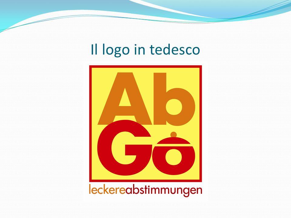 Il logo in tedesco