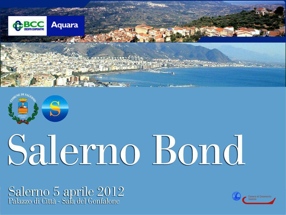 Le imprese che aiutano le imprese 2 Obiettivo del Salerno Bond è quello di collocare obbligazioni fra i cittadini salernitani per raccogliere somme utili a finanziare gli imprenditori della Città di Salerno.