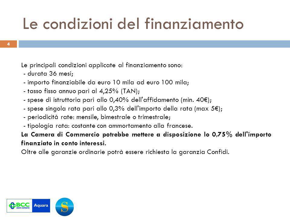 I flussi finanziari del progetto 5 Milioni di