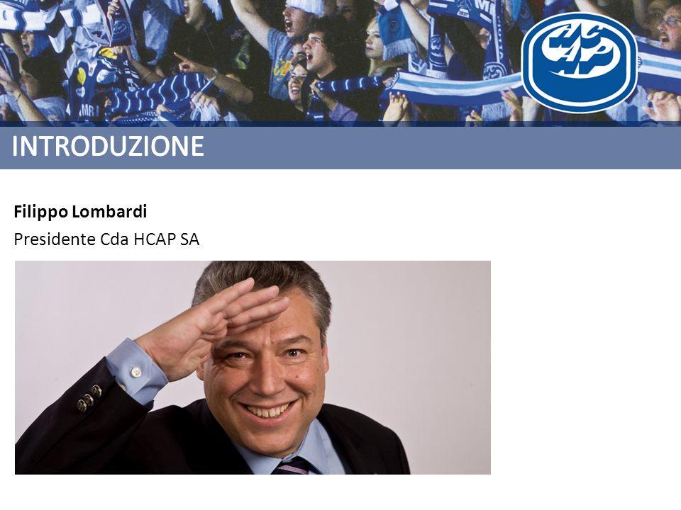Filippo Lombardi Presidente Cda HCAP SA