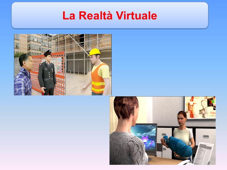 Le applicazioni VR hanno il fondamentale vantaggio di essere capaci di suscitare esperienze, che possono essere molto simili a quelle esperibili nel mondo reale ed anche di aggiungere simulazioni di contesti altrimenti non esperibili.