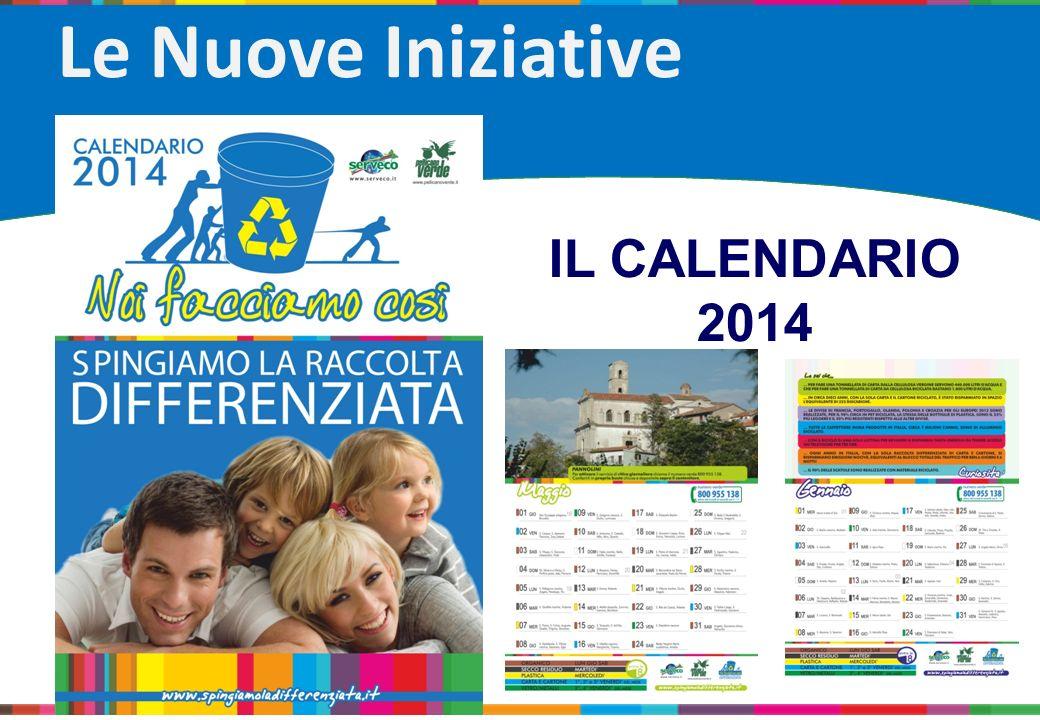 Le Nuove Iniziative IL CALENDARIO 2014