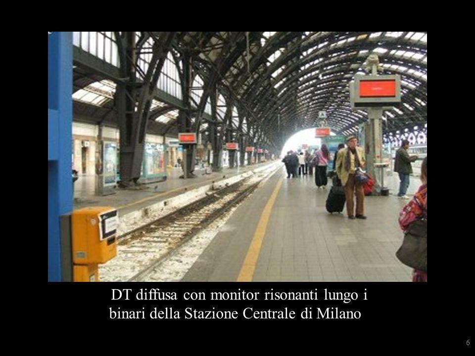 mMonitor risonanti lungo i binari della stazione centrMonitor risonanti lungo i binari della stazione centrale di Milano ale di Milano DT diffusa con monitor risonanti lungo i binari della Stazione Centrale di Milano 6