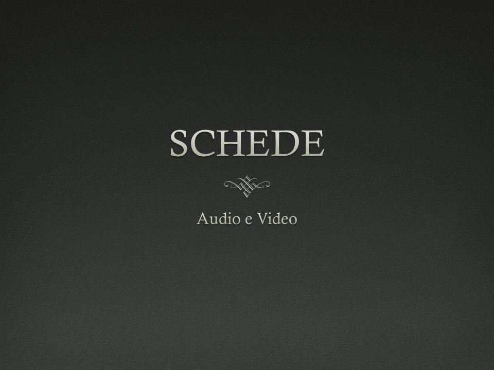Scheda AudioScheda Audio In elettronica una scheda audio è una scheda di espansione di un computer che si occupa di trasformare un flusso audio digitale in un segnale analogico (o anche digitale nelle configurazioni più recenti) per essere poi riprodotto da un set di altoparlanti.