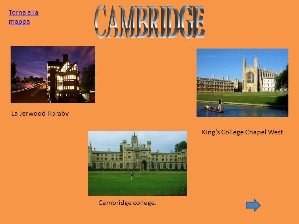 La Jerwood libraby Cambridge college. Kings College Chapel West Torna alla mappa