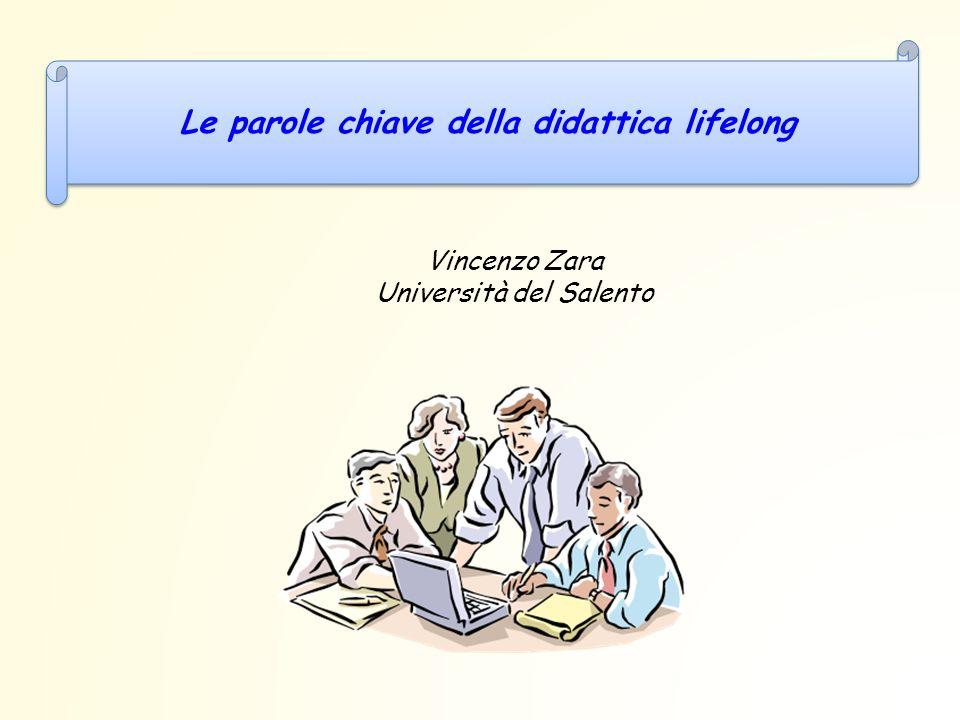 Le parole chiave della didattica lifelong Vincenzo Zara Università del Salento