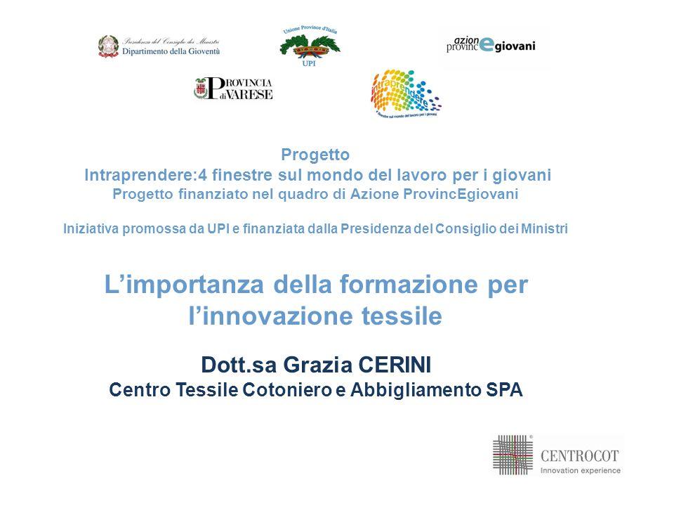 2 Fare innovazione: di COSA abbiamo bisogno Progetto Intraprendere:4 finestre sul mondo del lavoro per i giovani Senza risorse umane con COMPETENZE adeguate non si raggiungono risultati innovativi E un PROCESSO complesso e incerto Forte investimento in RISORSE Economiche Strumentali Umane E UN MODO DI FARE IMPRESA SOLUZIONE INNOVATIVA Rispondere a esigenze reali Essere realizzabile e commercializzabile Costituire un VANTAGGIO COMPETITIVO per limpresa IDEE