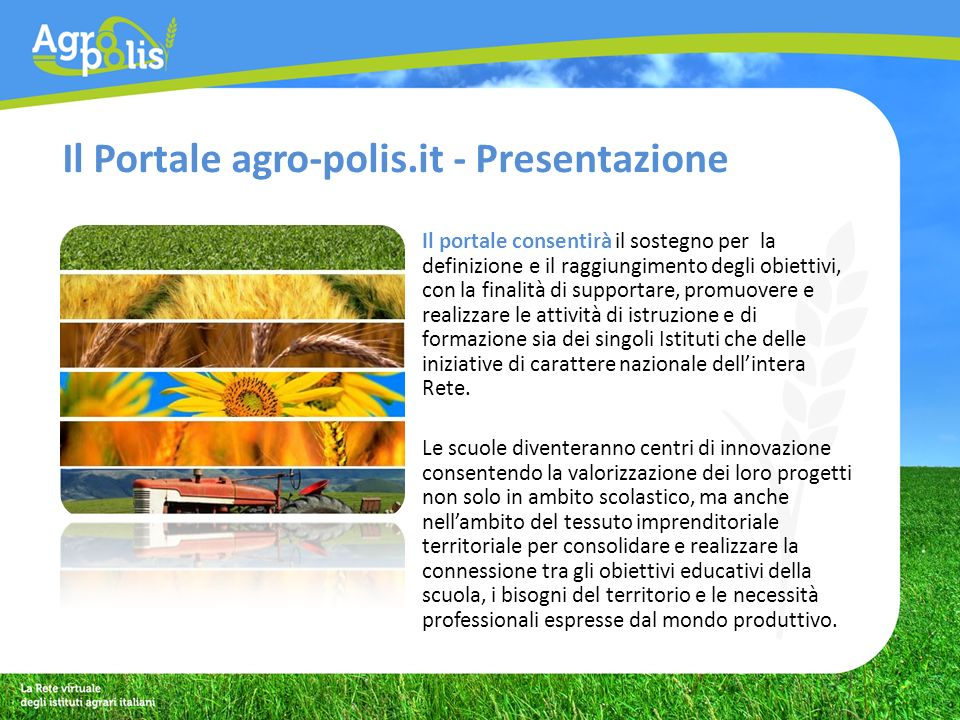 Il portale: agro-polis.it
