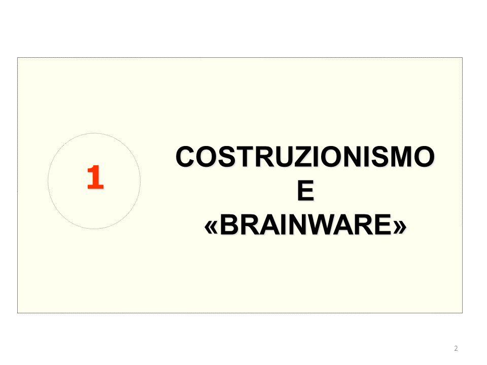 2 COSTRUZIONISMOE«BRAINWARE» 1