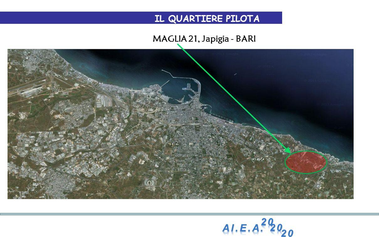IL QUARTIERE PILOTA MAGLIA 21, Japigia - BARI