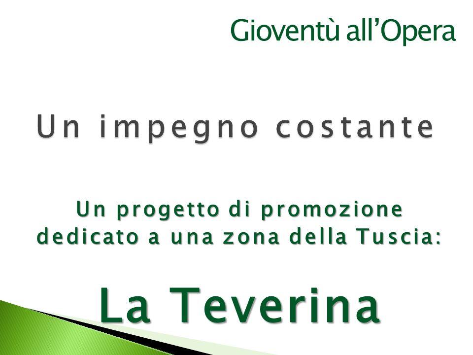 Un progetto di promozione dedicato a una zona della Tuscia: La Teverina Gioventù allOpera