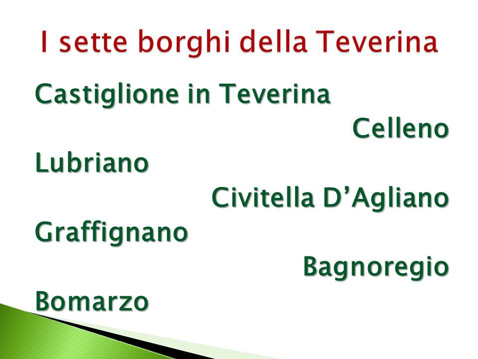 Castiglione in Teverina CellenoLubriano Civitella DAgliano GraffignanoBagnoregioBomarzo