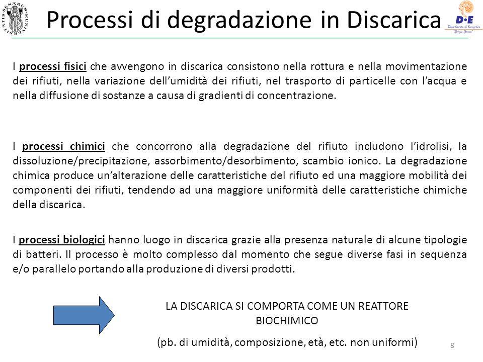 Il Biogas come COMBUSTIBILE Al fine di recuperare il biogas, quale combustibile, deve essere progettato e gestito: 1.