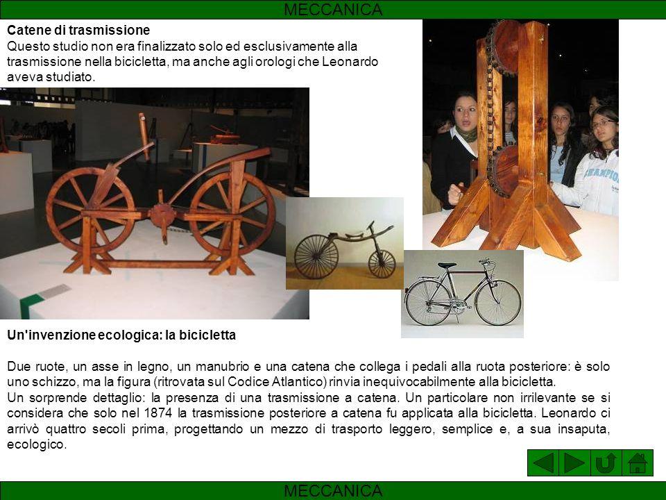 Cric Chissà se Leonardo pensò a questo modello per cambiare le ruote rotte a carri? Sicuramente, anche in questo caso, quello che stupisce è quanto si