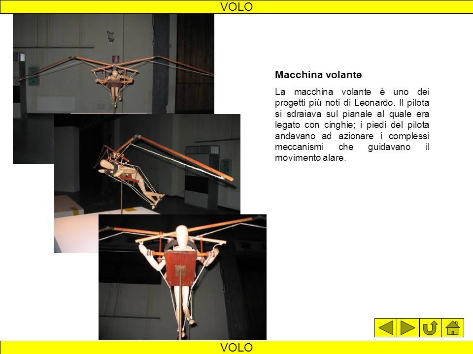 deltaplano volo VOLO Deltaplano Leonardo studia una macchina per il volo planato che permetta al pilota di cambiare il centro di gravità spostandosi s