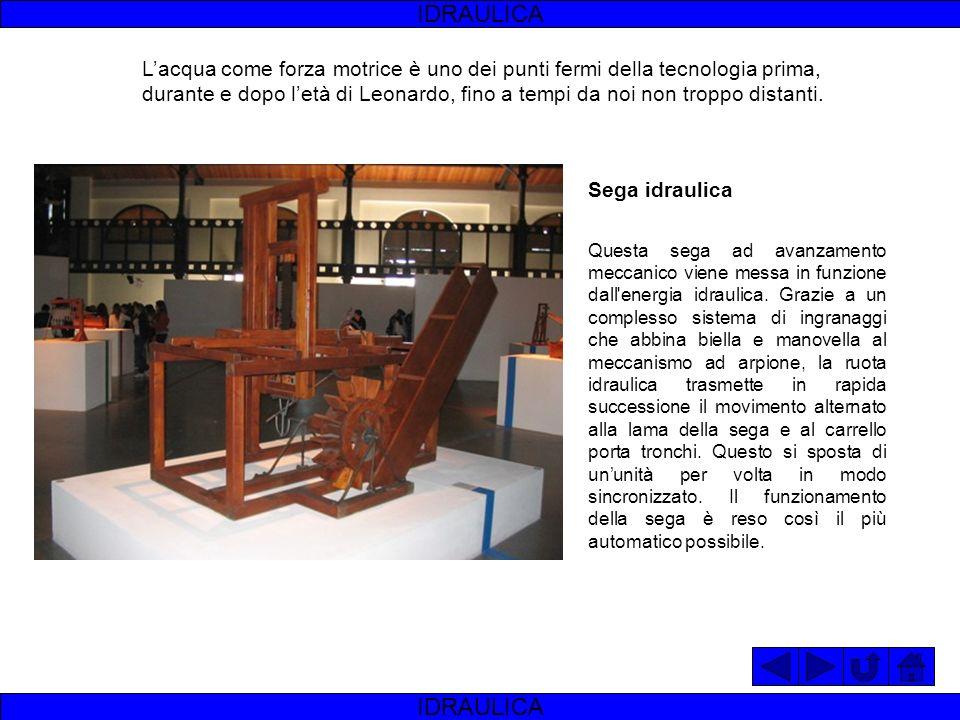 Una trivella idraulica con concetti meccanici simili alle trivelle attuali. Il meccanismo era azionato da due uomini che, in base alla profondità da r