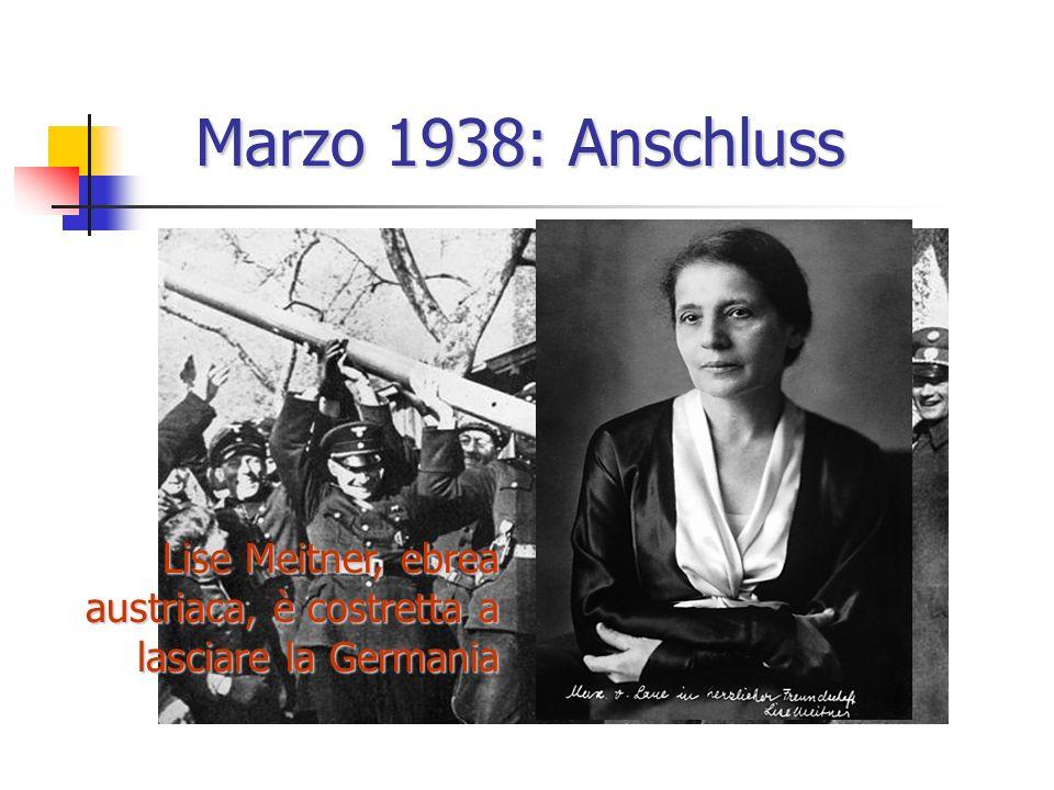 Lise Meitner e Otto Hahn Fritz Strassmann Berlino 1935-38
