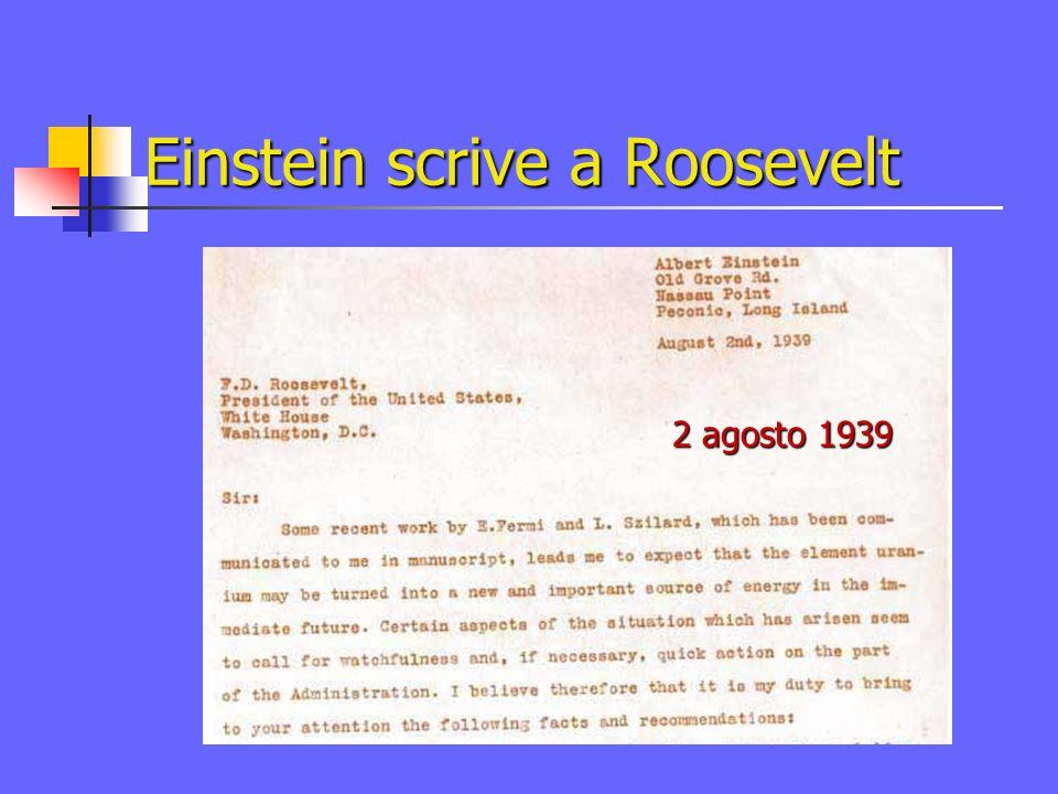 Costruire la bomba? Albert Einstein Leo Szilard