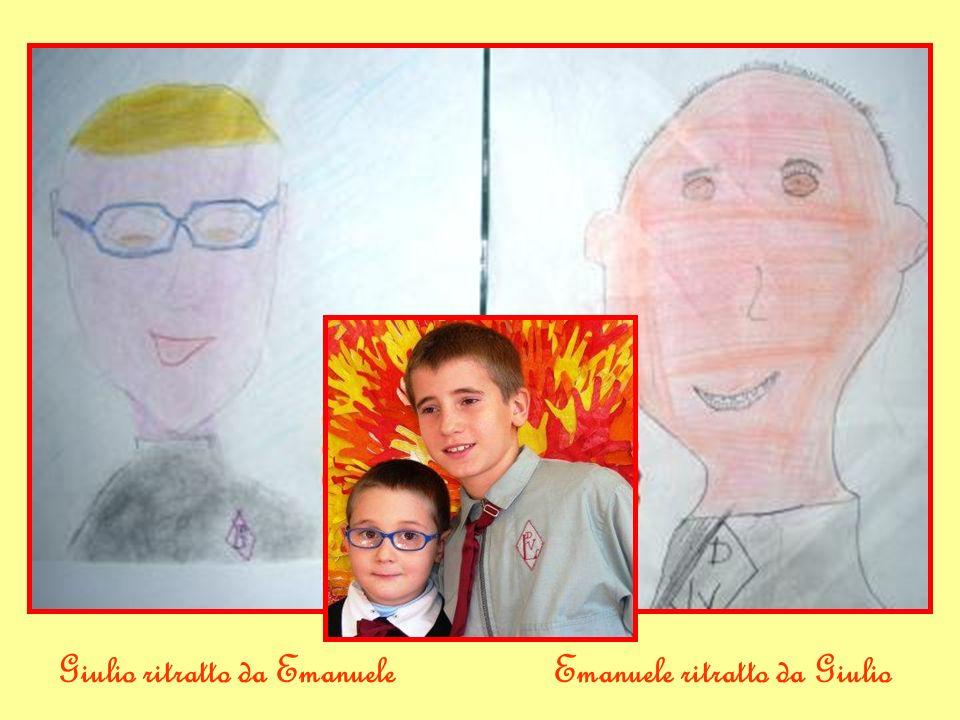 Giulio ritratto da EmanueleEmanuele ritratto da Giulio