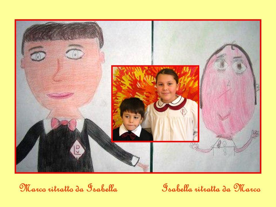 Marco ritratto da IsabellaIsabella ritratta da Marco