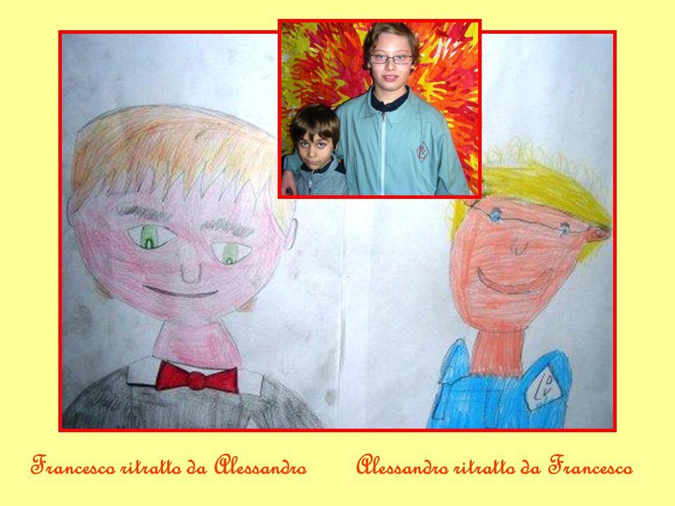 Alessandro ritratto da FrancescoFrancesco ritratto da Alessandro