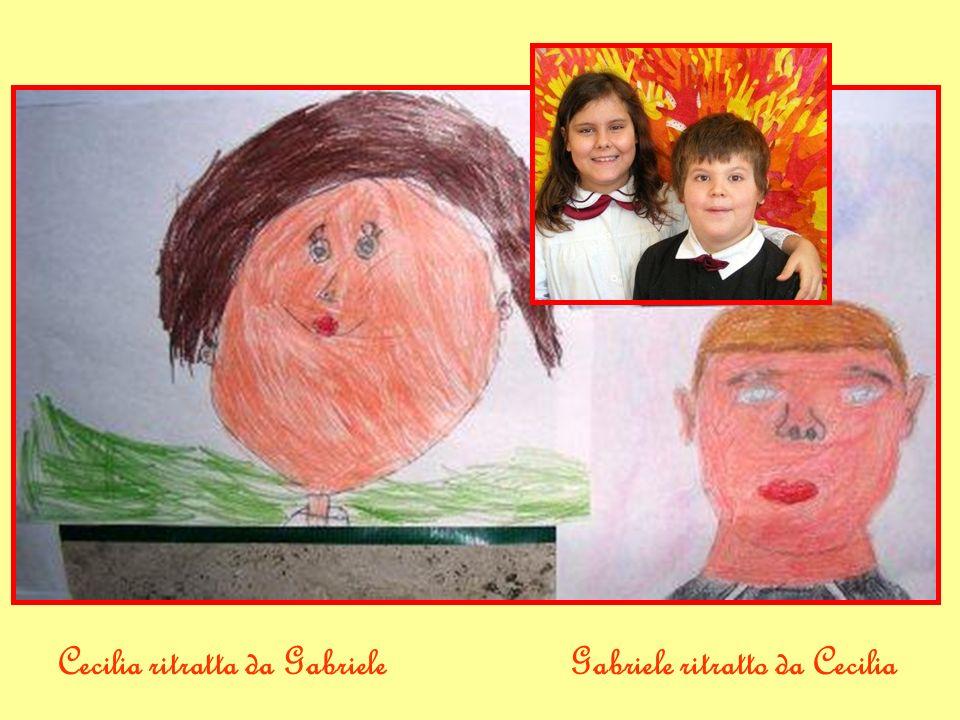 Cecilia ritratta da GabrieleGabriele ritratto da Cecilia