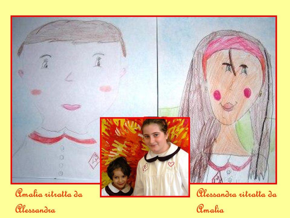 Amalia ritratta da Alessandra Alessandra ritratta da Amalia