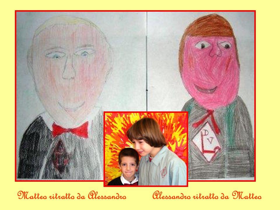 Matteo ritratto da AlessandroAlessandro ritratto da Matteo