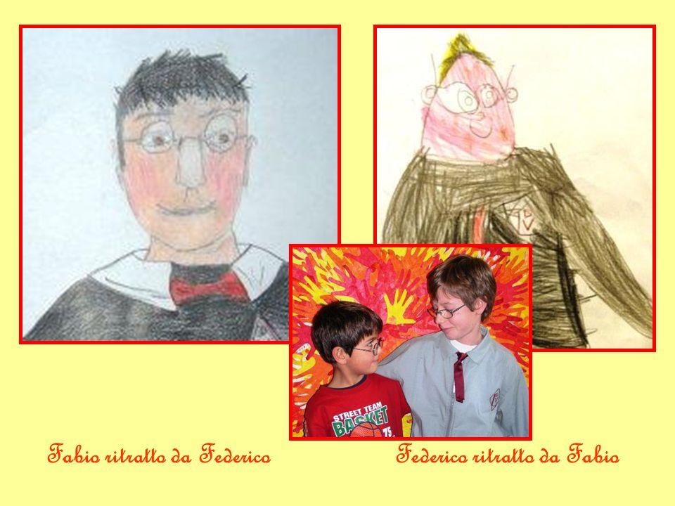 Fabio ritratto da FedericoFederico ritratto da Fabio