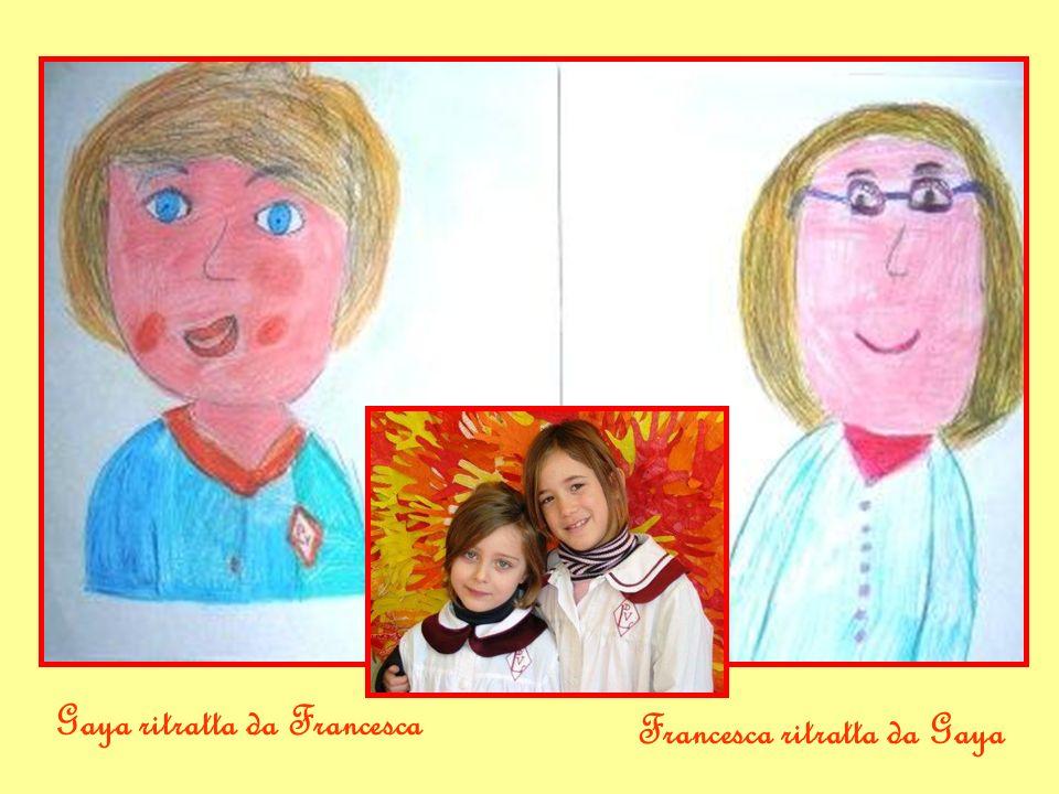 Gaya ritratta da Francesca Francesca ritratta da Gaya