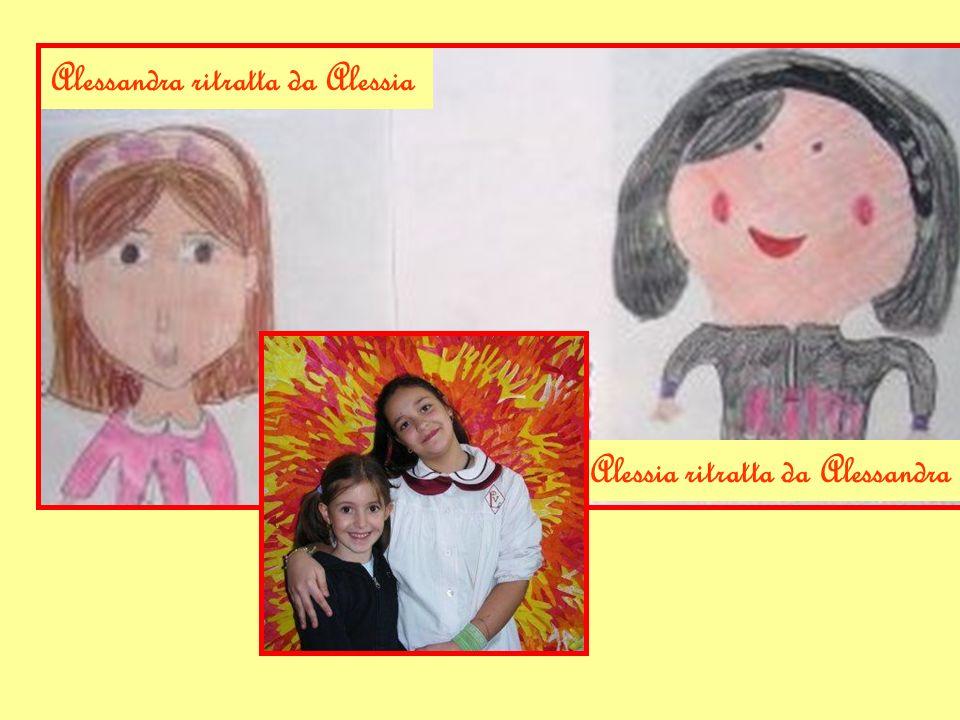 Alessandra ritratta da Alessia Alessia ritratta da Alessandra