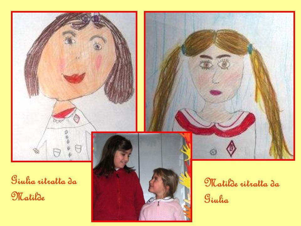 Giulia ritratta da Matilde Matilde ritratta da Giulia