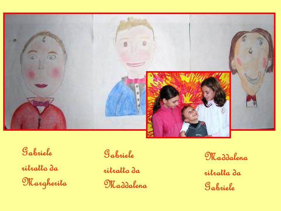 Gabriele ritratto da Margherita Gabriele ritratto da Maddalena Maddalena ritratta da Gabriele