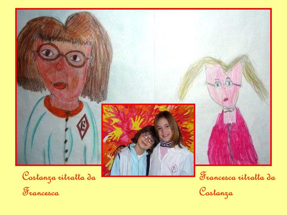 Costanza ritratta da Francesca Francesca ritratta da Costanza