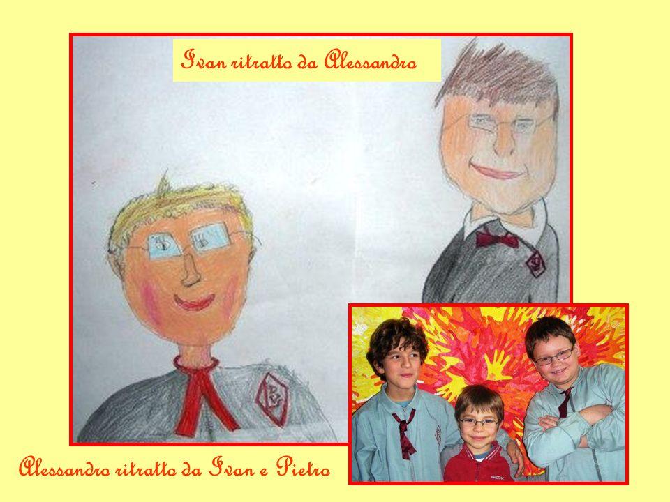 Alessandro ritratto da Ivan e Pietro Ivan ritratto da Alessandro